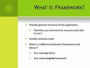 what is framework